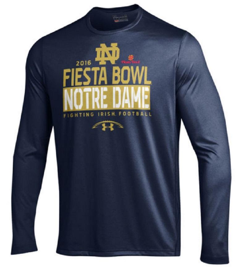 notre dame 2016 fiesta bowl shirts apparel