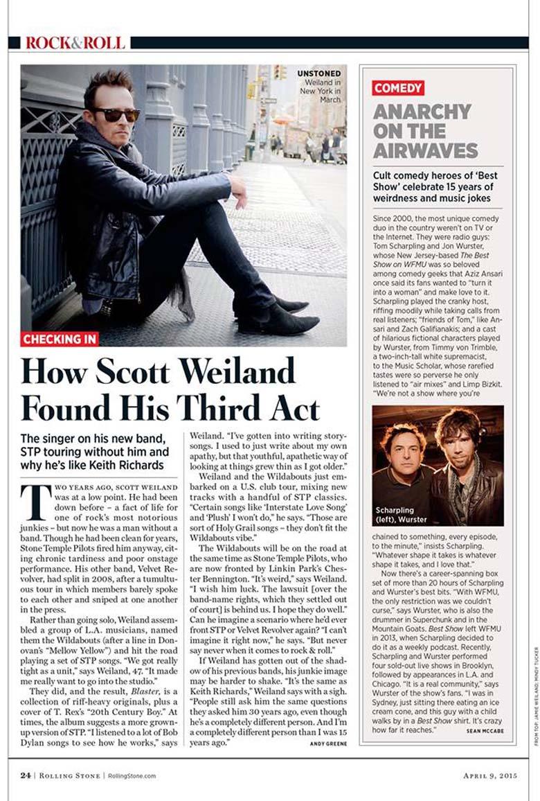 Scott Weiland Rolling Stone