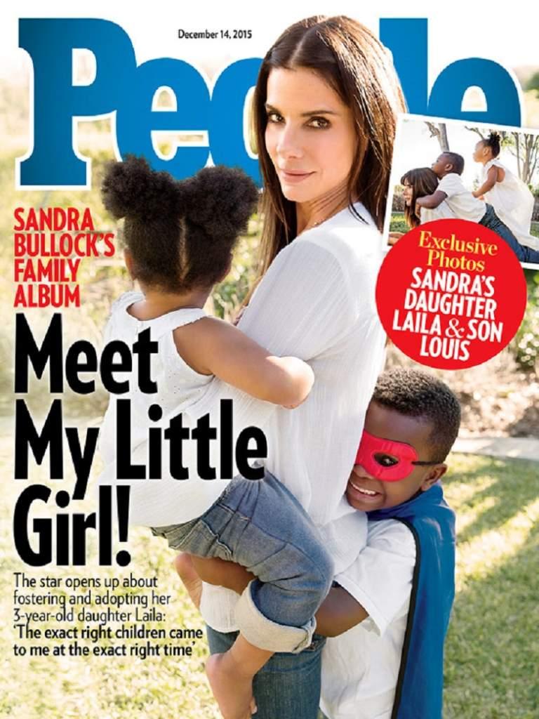 Laila Bullock, Sandra Bullock Daughter Name, Sandra Bullock Son Name, Sandra Bullock New Daughter