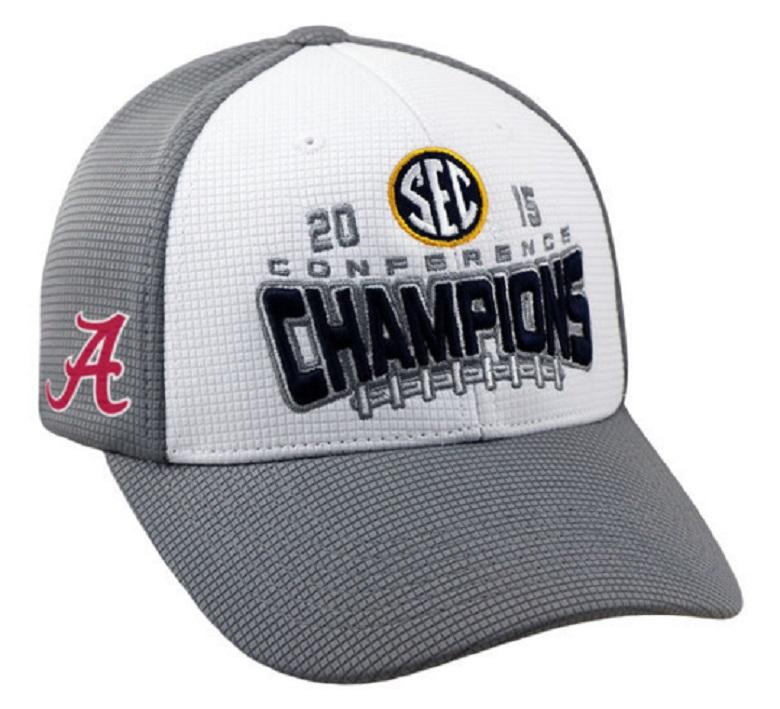 alabama crimson tide sec championship gear hats