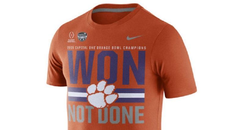 clemson tigers college football playoffs national championship game shirts