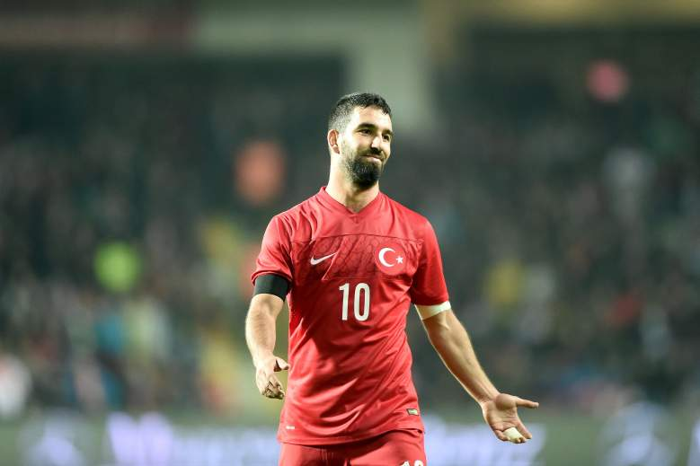 Turkey's midfield will be lead by Arda Turan in the 2016 European Championship in France. Getty