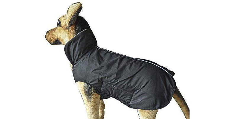 PeeCee Waterproof Fleece Lined Reflective Dog Jacket