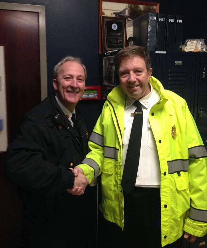 Foxboro Police Chief Edward O'Leary