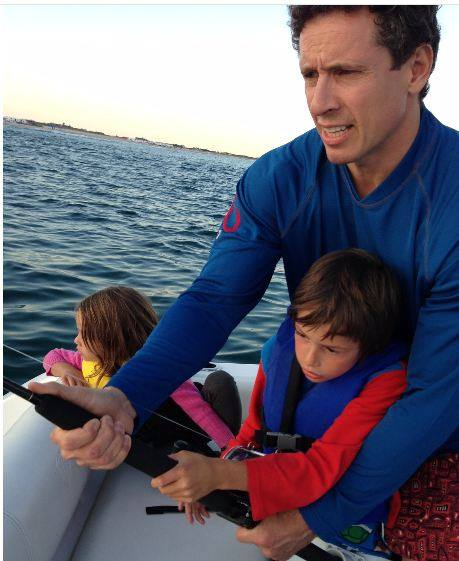 Chris Cuomo children, Chris Cuomo saves man, Chris Cuomo town hall