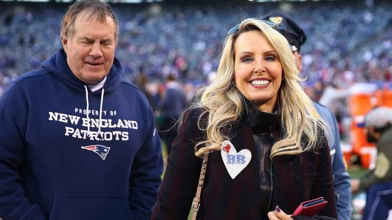 Bill Belichick with girlfriend, Linda Holliday. (Getty)
