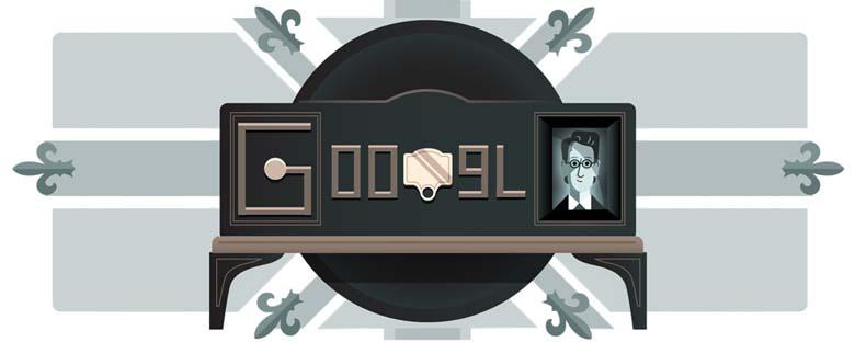 John Logie Baird Google Doodle