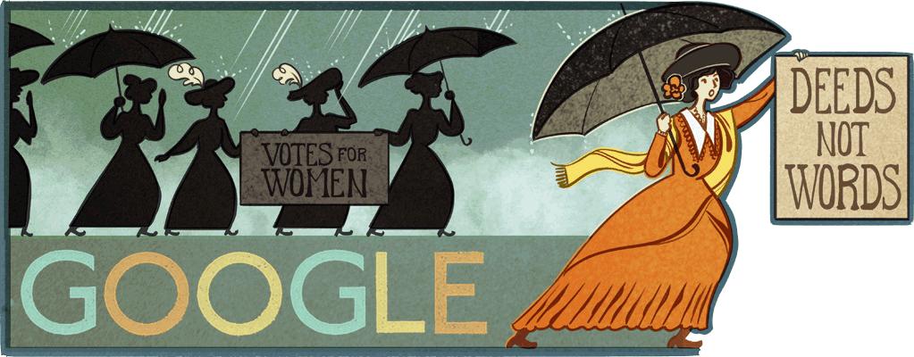 Alice Paul, Alice Paul Google Doodle, Alice Paul birthday