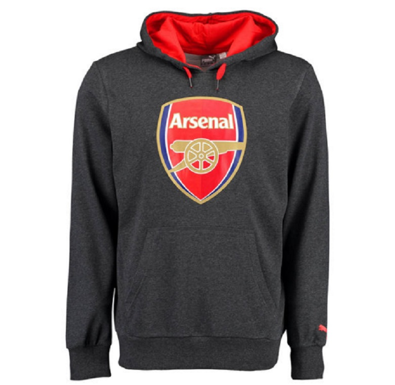 arsenal fc gear apparel hoodies