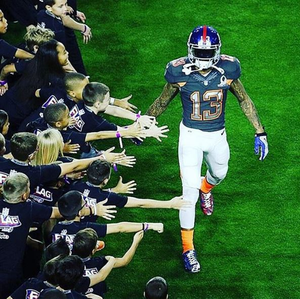 Odell Beckham Eli Manning, NFL Pro Bowl, Pro Bowl