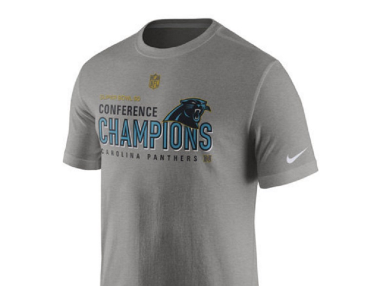 panthers nfc champions gear shirts
