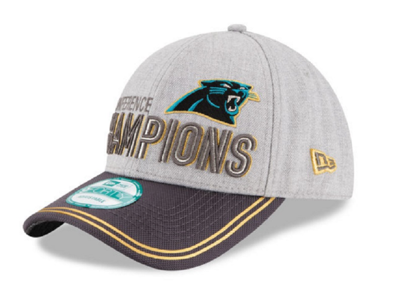 panthers nfc champions gear hats