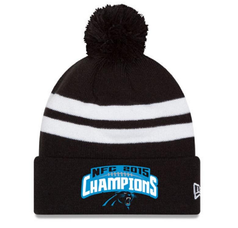 carolina panthers nfc champs gear hats