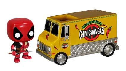 Deadpool Chimichangas truck