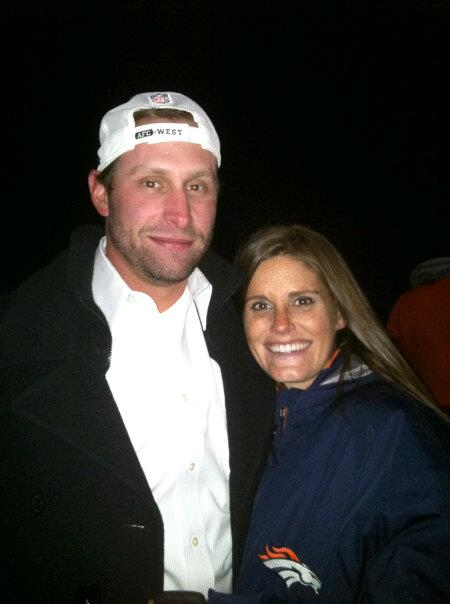 Gase met Jennifer at a golf tournament, not knowing her father was an NFL coach. (Facebook)