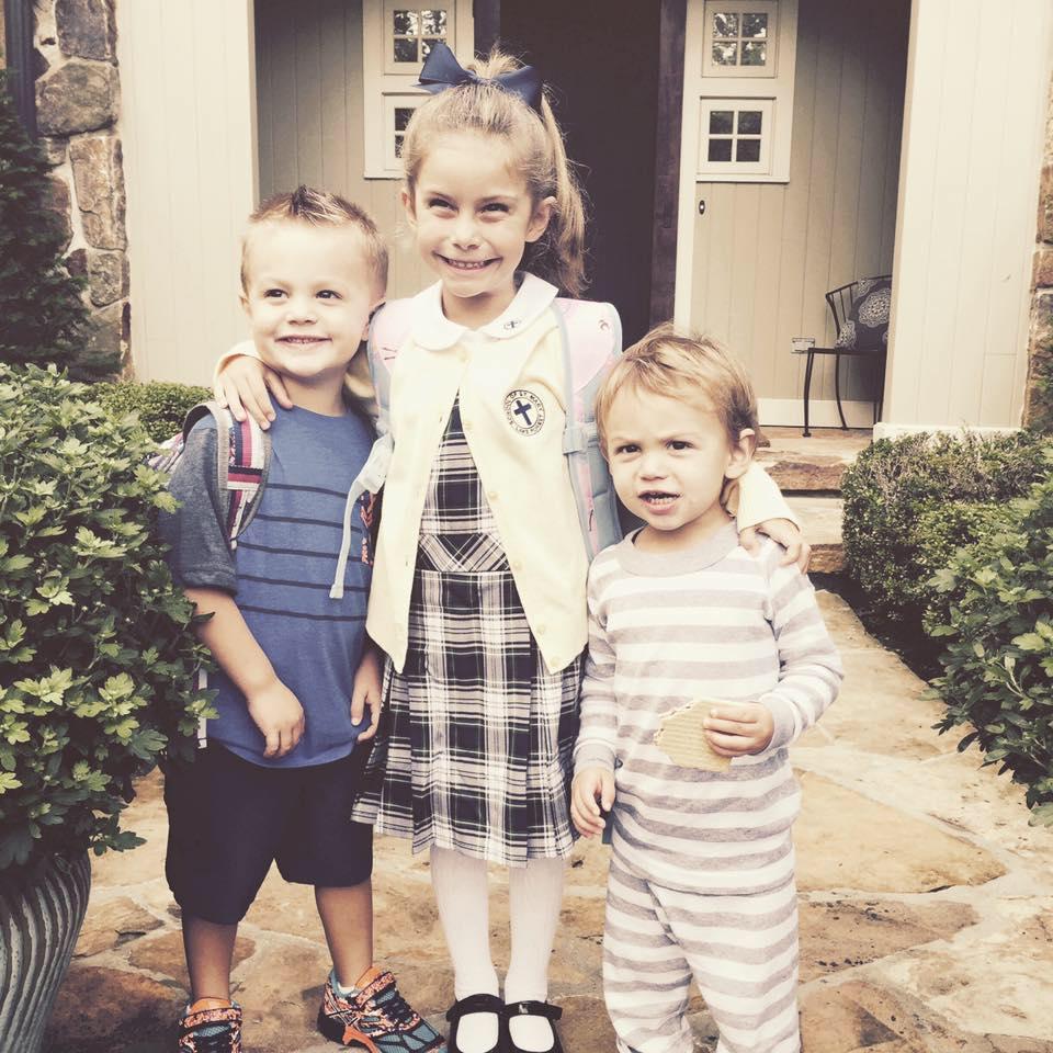 Adam and Jennifer have three children. (Facebook)