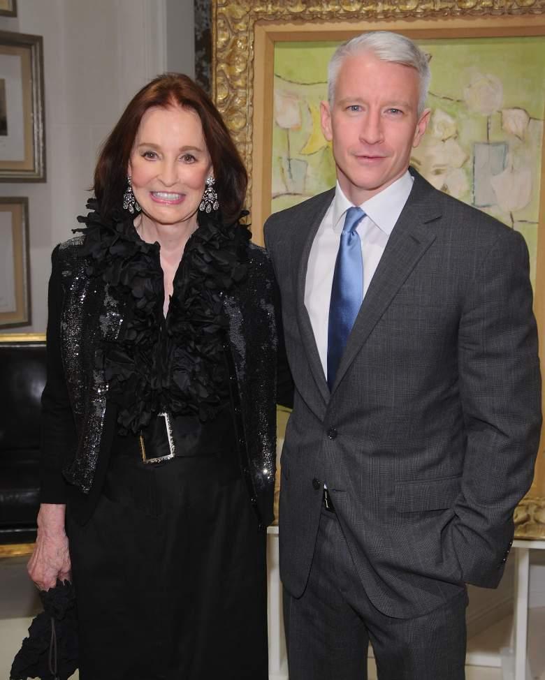 Gloria Vanderbilt, Anderson Cooper