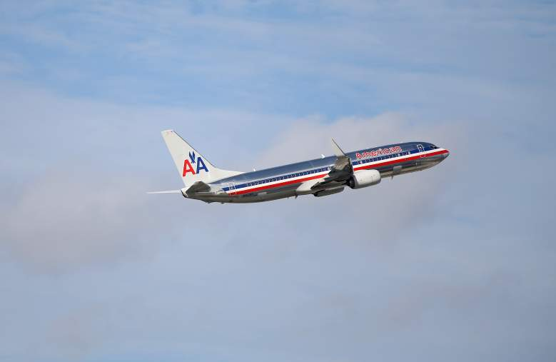 MIAMI, FL - NOVEMBER 12: An American Airlines plane takes off from the Miami International Airport on November 12, 2013 in Miami, Florida. Today, the Justice Department announced it had reached an agreement to permit American Airlines and US Airways to merge, creating the world's biggest airline. (Photo by Joe Raedle/Getty Images)
