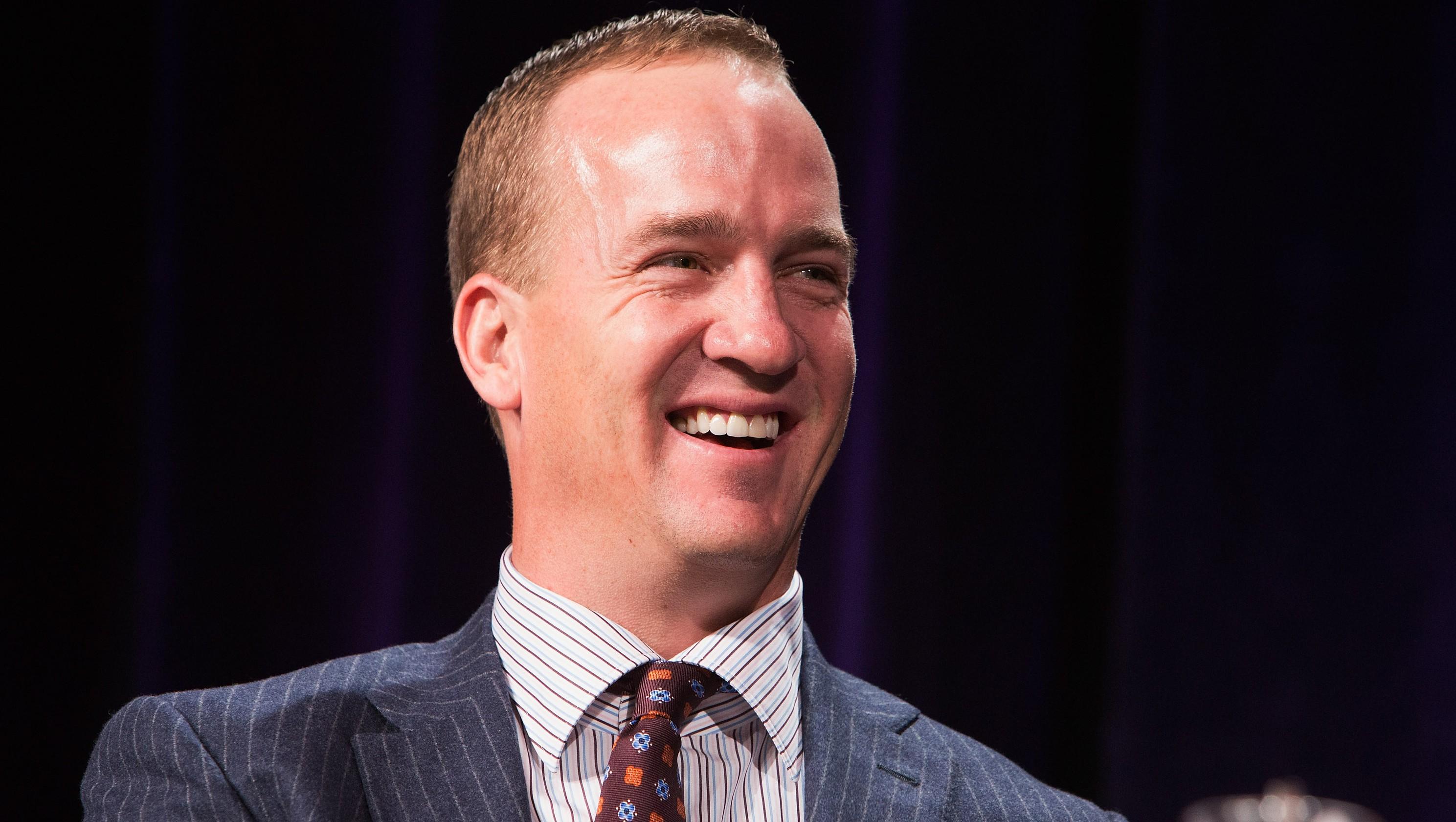 Peyton Manning Forehead