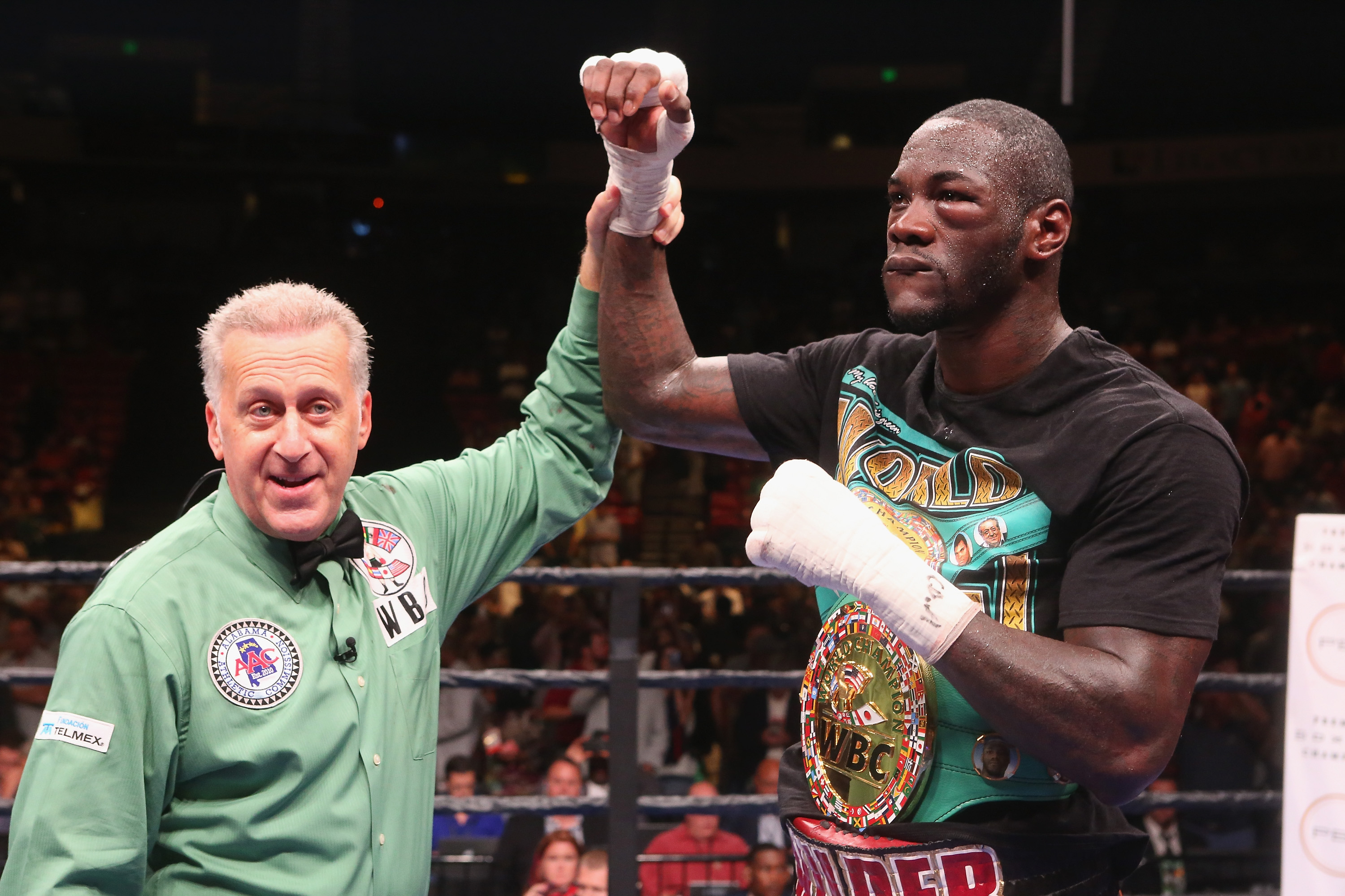 I see Deontay Wilder holding on to his belt and record with a KO victory, come Saturday.