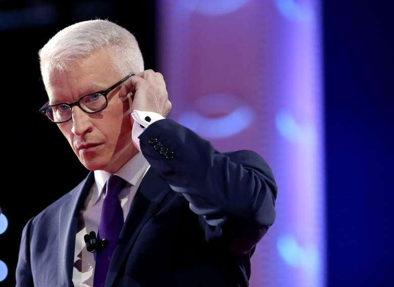 Anderson Cooper debate, Anderson Cooper