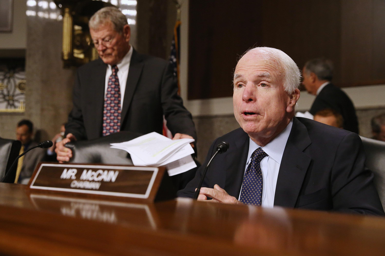 Republican polls, GOP polls, John McCain endorsement