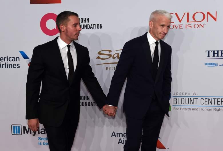Anderson Cooper, Benjamin Maisani, Anderson Cooper gay