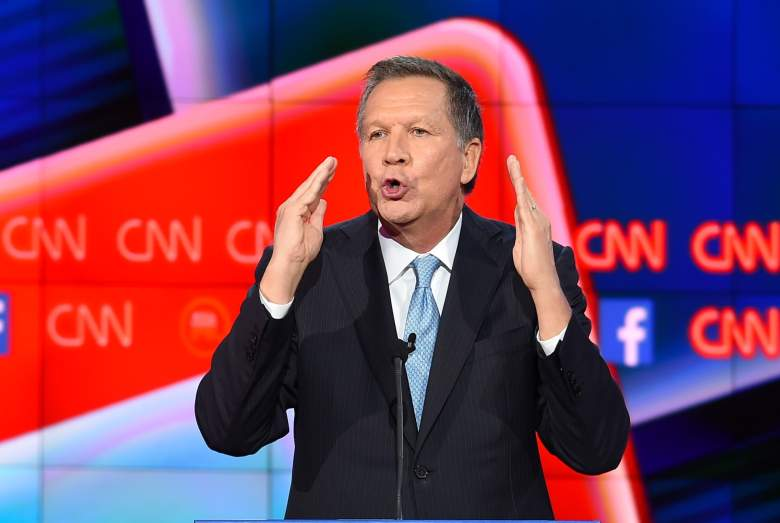 John Kasich polls, John Kasich New Hampshire, John Kasich debate