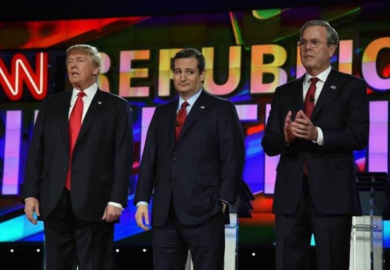 GOP debate, Donald Trump debate, Ted Cruz debate, Jeb Bush debate