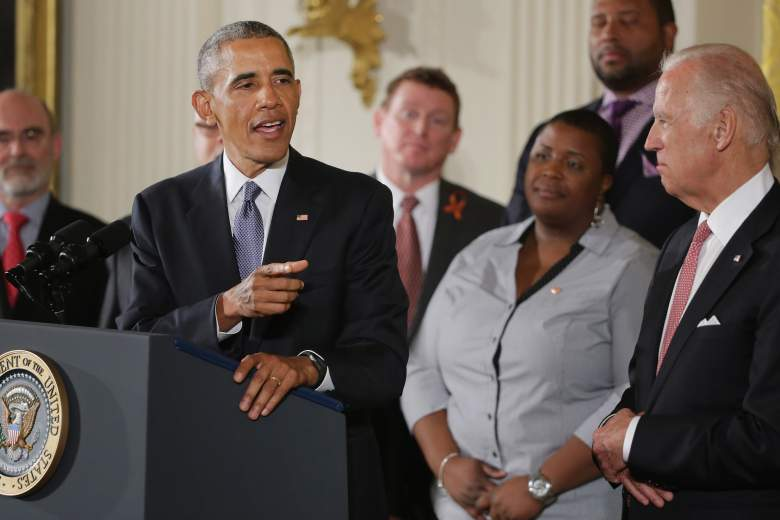 Barack Obama addresses the nation on his planned gun control initiatives. (Getty)