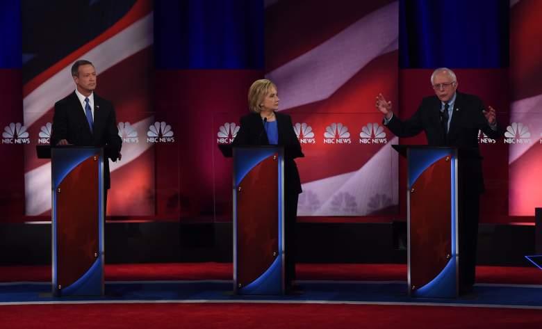 Democratic debate, Democratic town hall, Democratic polls