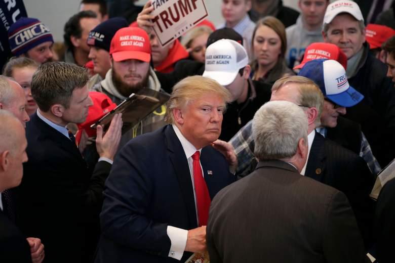 Donald Trump Iowa, Donald Trump New Hampshire, Donald Trump polls