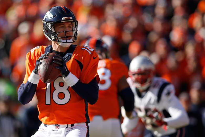 Peyton Manning, Broncos and Panthers, line, spread, odds, vegas