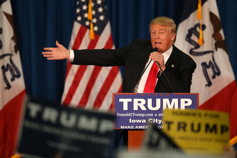 Donald Trump event, Donald Trump wounded warriors, Donald Trump Iowa
