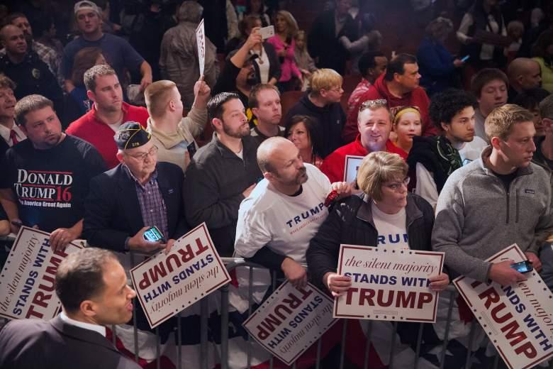 Trump supporters, Trump rally, GOP establishment vs. Trump, Donald Trump Iowa