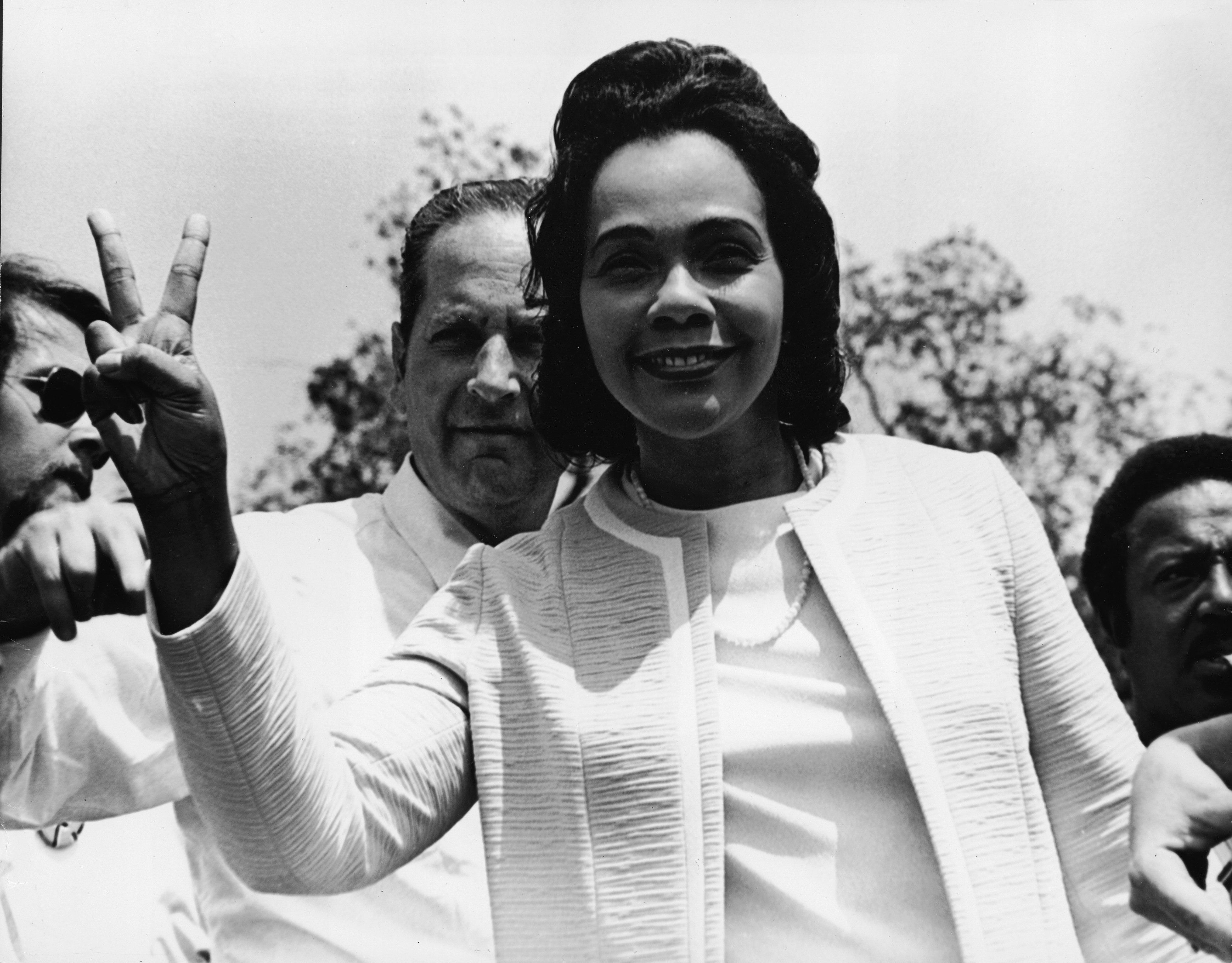 Coretta Scott King (Photo by Gene Forte/Getty Images)