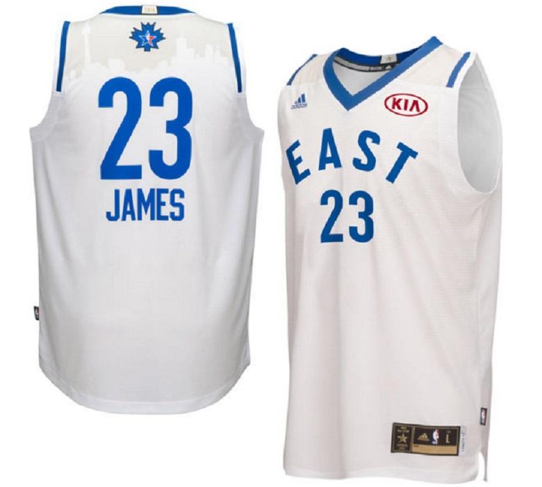 nba all star game 2016 gear jerseys