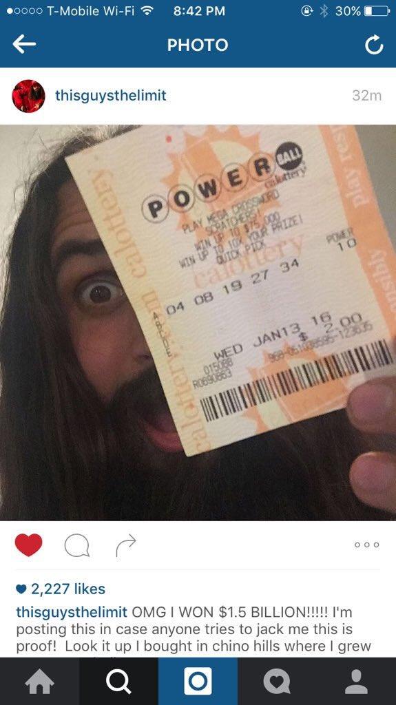 powerball winner heh
