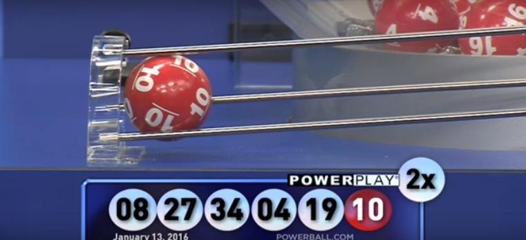 winning powerball numbers