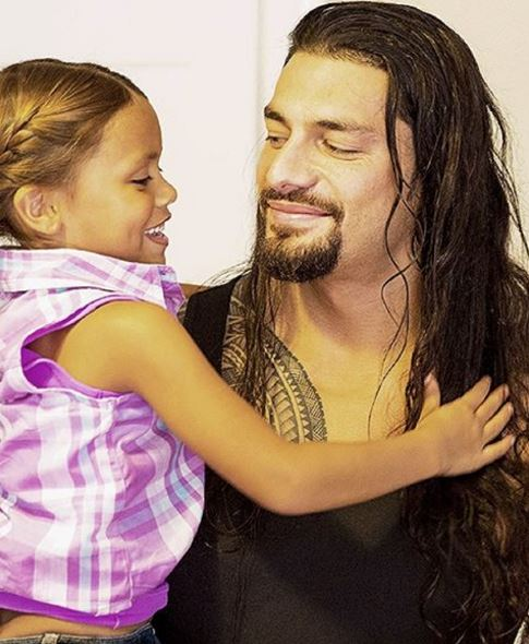 Roman Reigns daughter, Roman Reigns wife