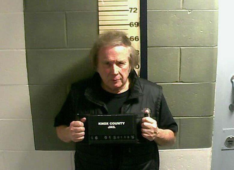 Don McLean mugshot knox county jail