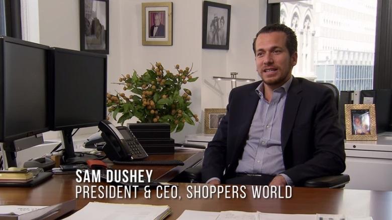 Undercover Boss, Undercover Boss Episodes, Shoppers World Undercover Boss, Shoppers World CEO Undercover Boss, Sam Dushey, Sam Dushey Undercover Boss, Sam Dushey Shoppers World