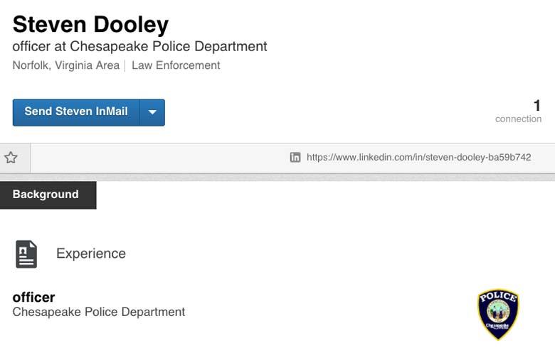Steven Dooley Chesapeake Police Department