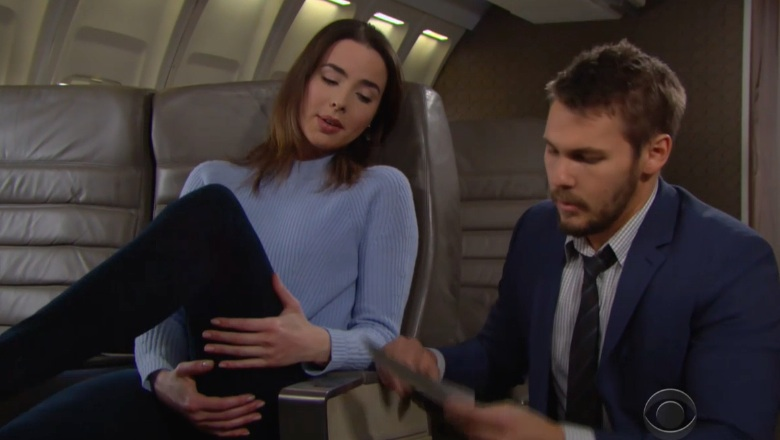The Bold and the Beautiful Cast, The Bold and the Beautiful Actors, Ivy Forrester Photos, Ashleigh Brewer Photos, Liam Spencer Photos, Scott Clifton Photos