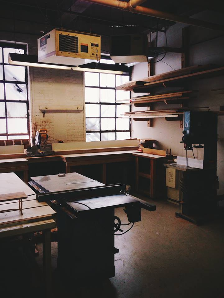 Hanisch's workshop. (Facebook)