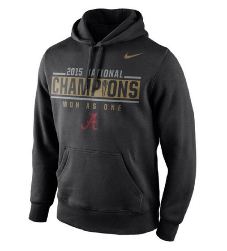 alabama national champions hoodies