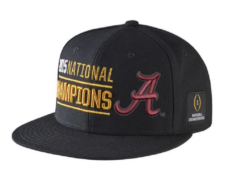 alabama crimson tide national champions hats gear
