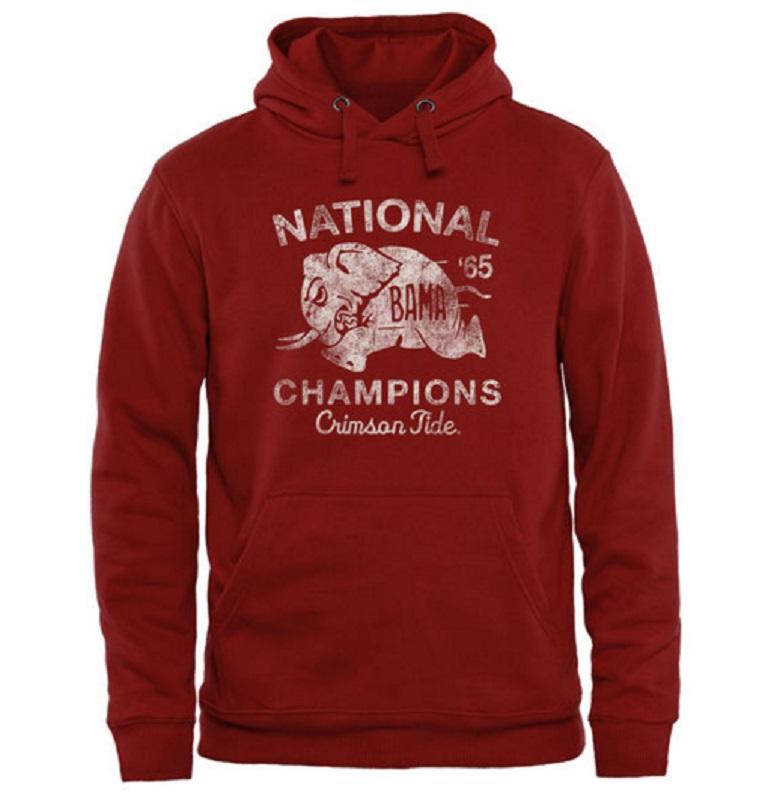alabama crimson tide national champions gear hoodies