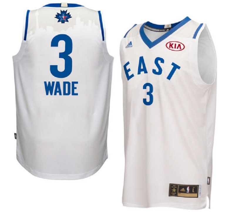 nba all star game 2016 gear jersey