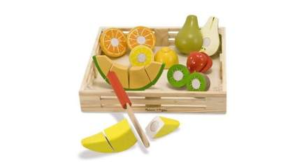 wooden fruit toys